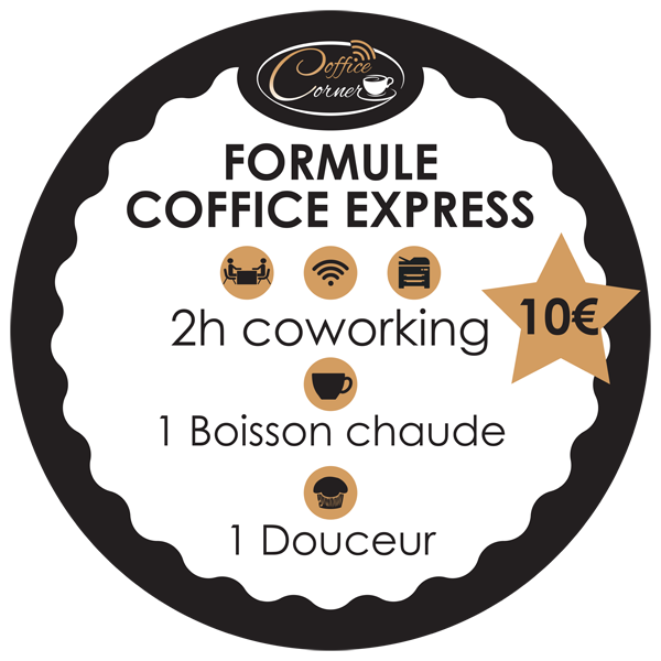 Nouvelle Formule Coffice express alliant coworking et pause gourmande